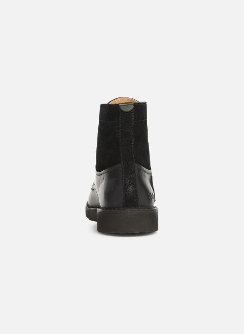 Bottines et boots Kickers Transit H Noir vue droite