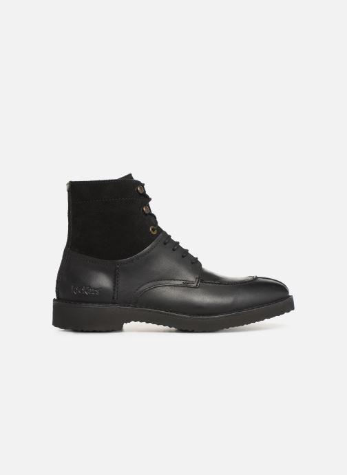 Bottines et boots Kickers Transit H Noir vue derrière