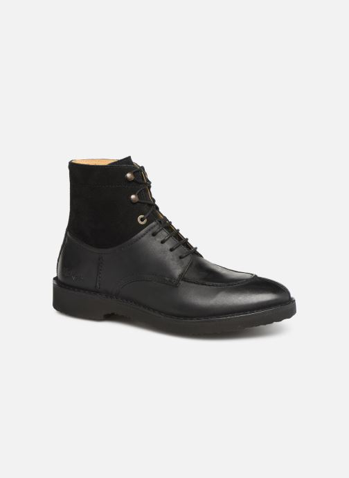 Bottines et boots Kickers Transit H Noir vue détail/paire