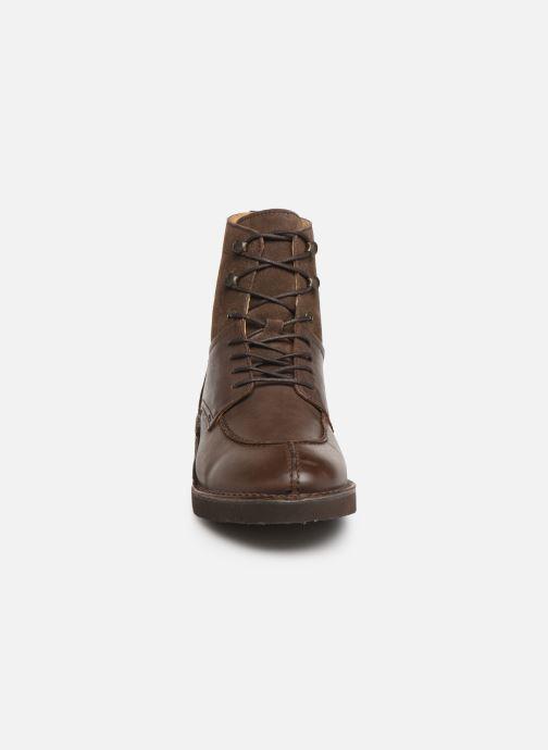 Bottines et boots Kickers Transit H Marron vue portées chaussures