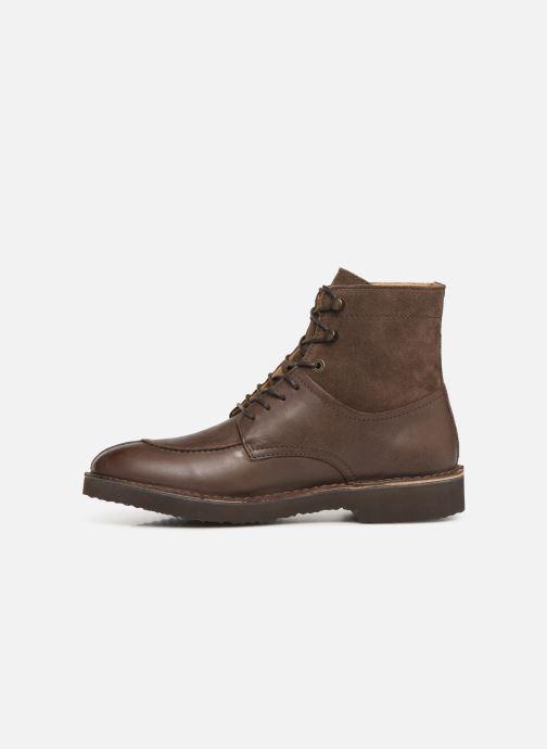 Bottines et boots Kickers Transit H Marron vue face
