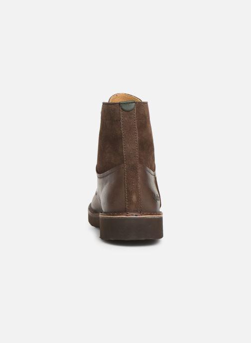 Bottines et boots Kickers Transit H Marron vue droite