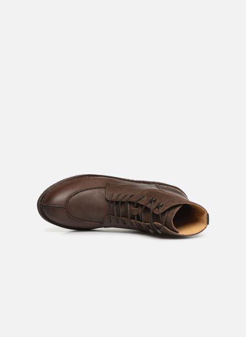 Bottines et boots Kickers Transit H Marron vue gauche