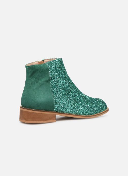 Boots en enkellaarsjes Made by SARENZA Made By Sarenza X Modetrotter Boots Groen voorkant