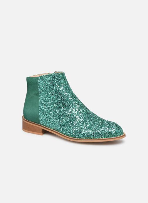 Boots en enkellaarsjes Made by SARENZA Made By Sarenza X Modetrotter Boots Groen rechts