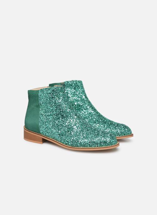 Boots en enkellaarsjes Made by SARENZA Made By Sarenza X Modetrotter Boots Groen achterkant