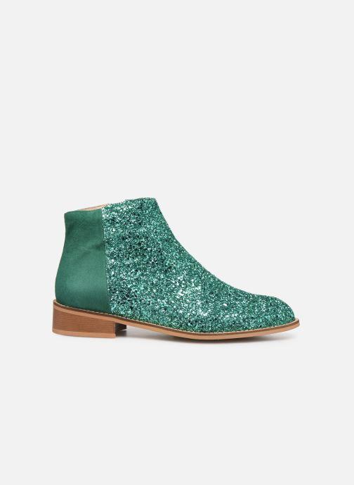 Boots en enkellaarsjes Made by SARENZA Made By Sarenza X Modetrotter Boots Groen detail