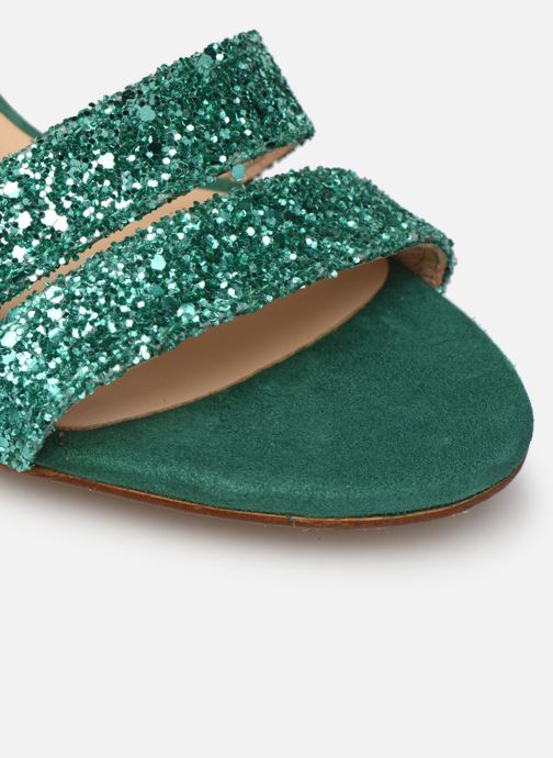 Sandales et nu-pieds Made by SARENZA Made By Sarenza X Modetrotter Sandales à Talons Vert vue gauche