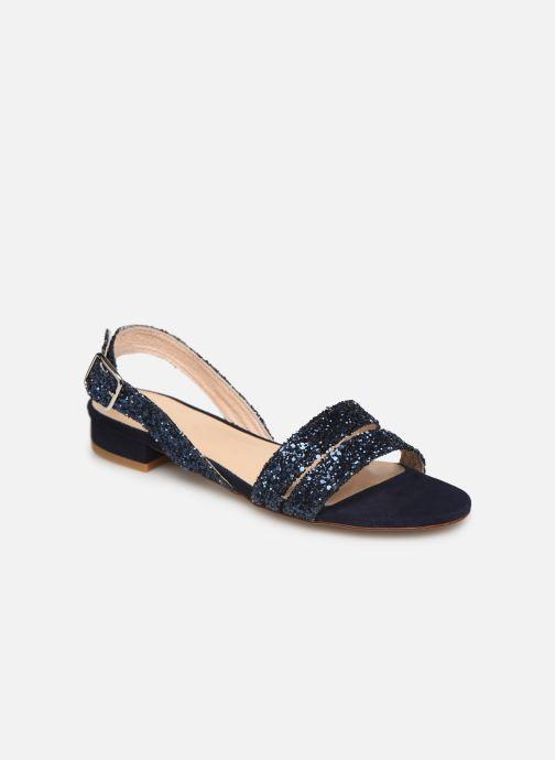 Sandales et nu-pieds Made by SARENZA Made By Sarenza X Modetrotter Sandales Plates Bleu vue droite