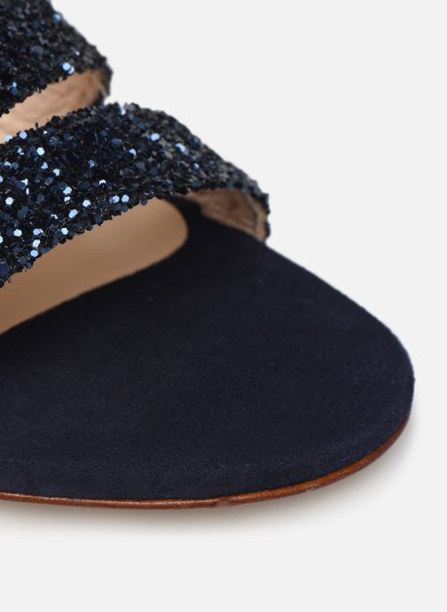 Sandales et nu-pieds Made by SARENZA Made By Sarenza X Modetrotter Sandales Plates Bleu vue gauche