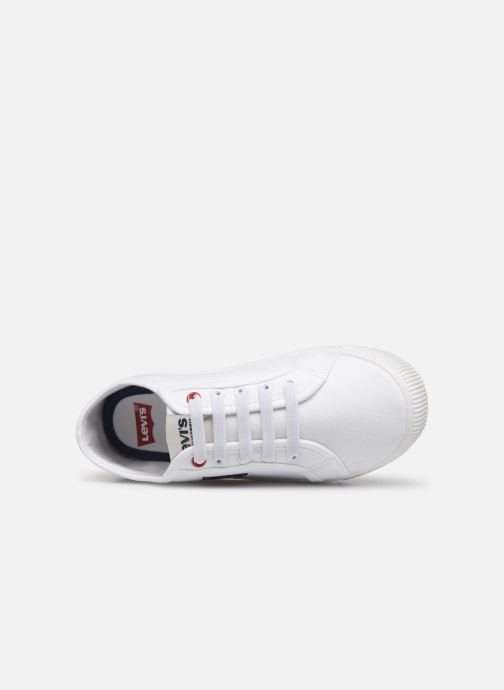 Trainers Levi's Ventura White view from the left
