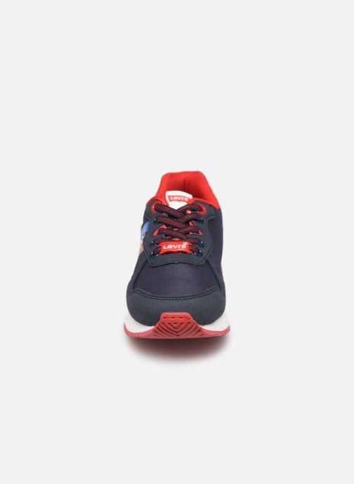 Baskets Levi's Springfield Bleu vue portées chaussures