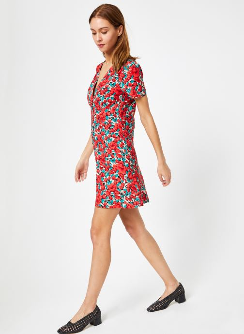 Frnch Rouge Alyana VêtementsRobes Fleuri Imprime Nn0OX8wPk
