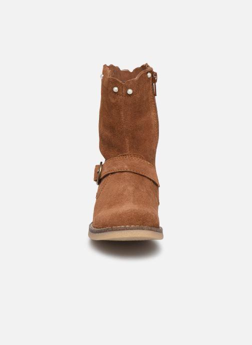 Bottes MTNG 47832 Marron vue portées chaussures