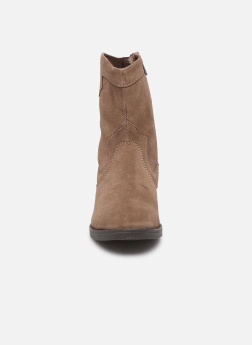Bottes MTNG 47835 Marron vue portées chaussures