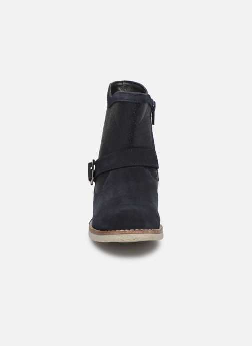 Stiefel MTNG 47840 blau schuhe getragen