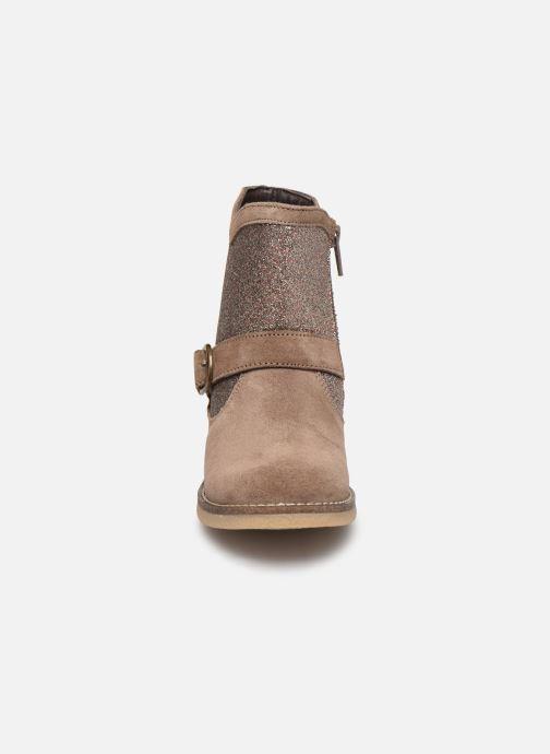 Bottes MTNG 47840 Marron vue portées chaussures