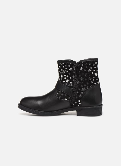 Ankle boots MTNG 47843 Black front view
