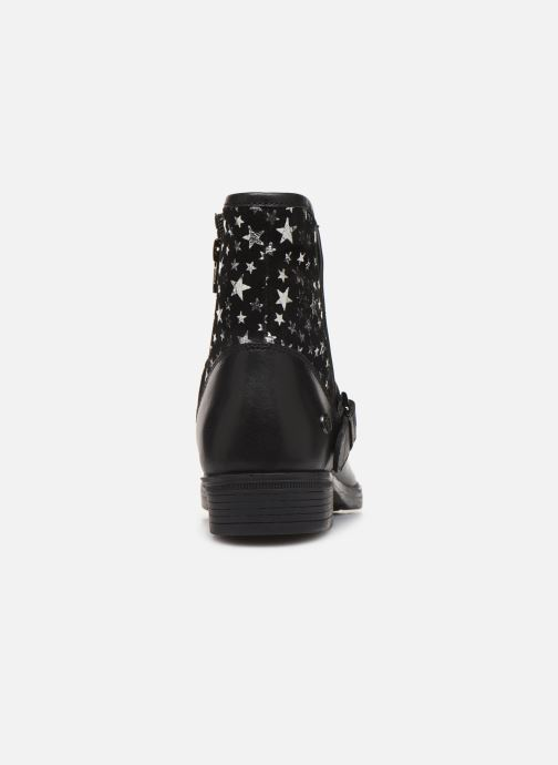 Ankle boots MTNG 47843 Black view from the right