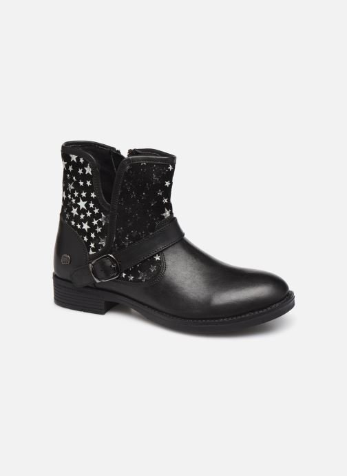 Ankle boots MTNG 47843 Black detailed view/ Pair view