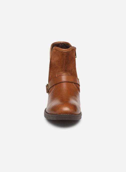Bottines et boots MTNG 47843 Marron vue portées chaussures
