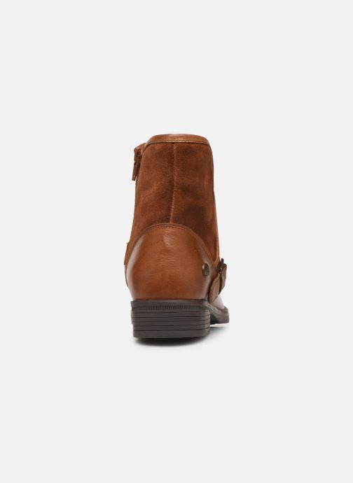 Bottines et boots MTNG 47843 Marron vue droite