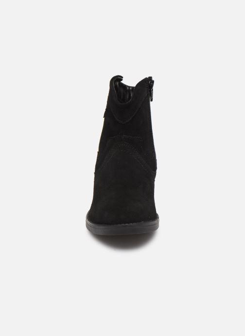 Stiefeletten & Boots MTNG 47849 schwarz schuhe getragen