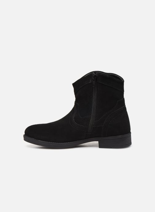 Ankle boots MTNG 47849 Black front view