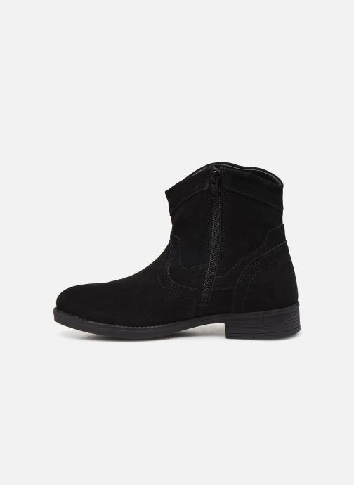Boots en enkellaarsjes MTNG 47849 Zwart voorkant