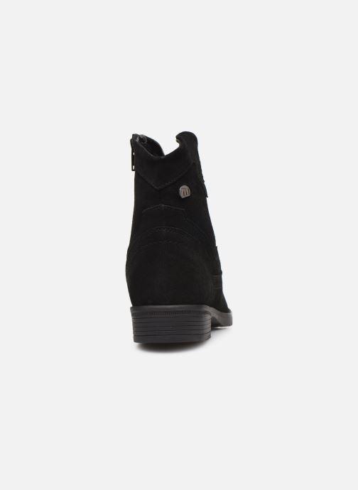 Boots en enkellaarsjes MTNG 47849 Zwart rechts