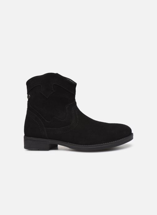 Ankle boots MTNG 47849 Black back view