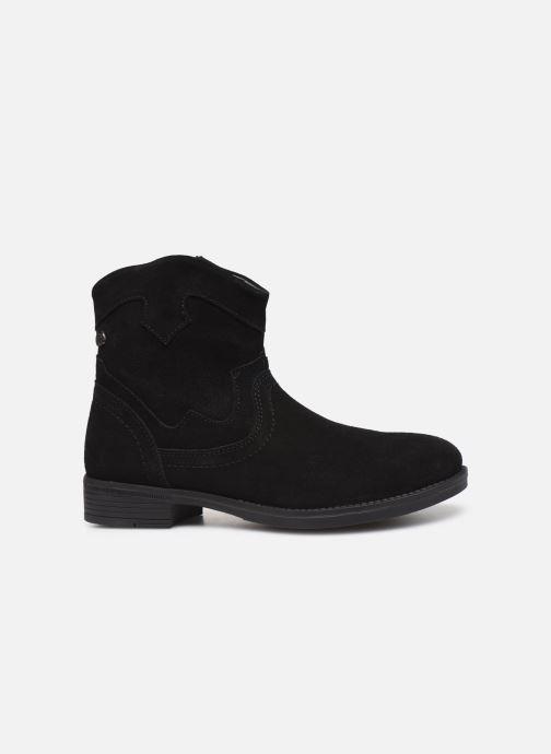Boots en enkellaarsjes MTNG 47849 Zwart achterkant