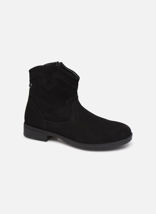 Ankle boots MTNG 47849 Black detailed view/ Pair view