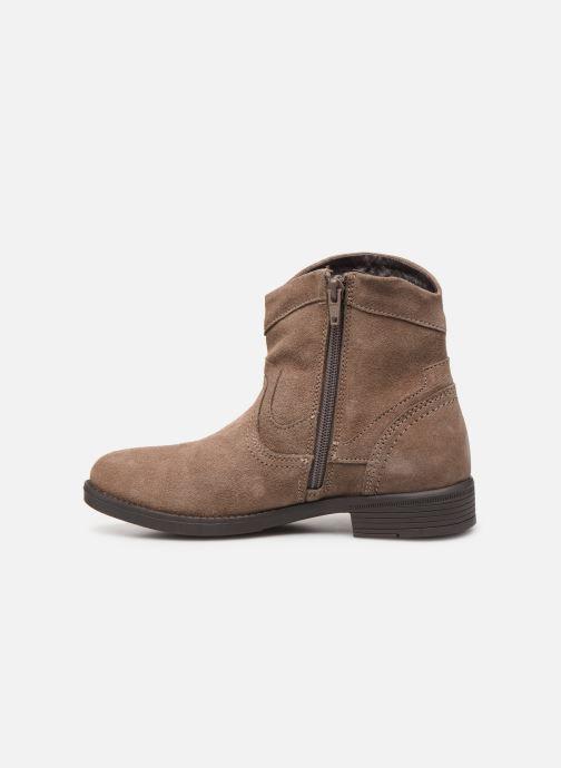 Boots en enkellaarsjes MTNG 47849 Bruin voorkant
