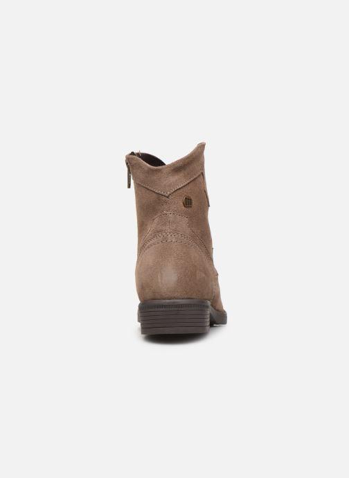 Bottines et boots MTNG 47849 Marron vue droite