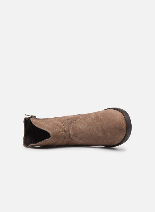 Boots en enkellaarsjes MTNG 47849 Bruin links