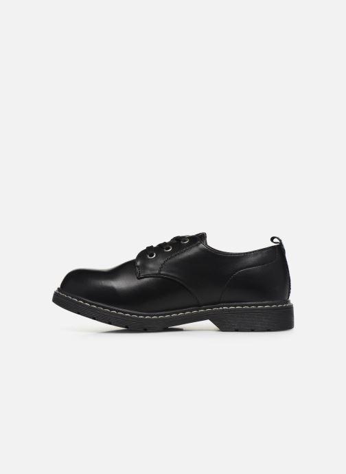 Chaussures à lacets MTNG 47854 Noir vue face