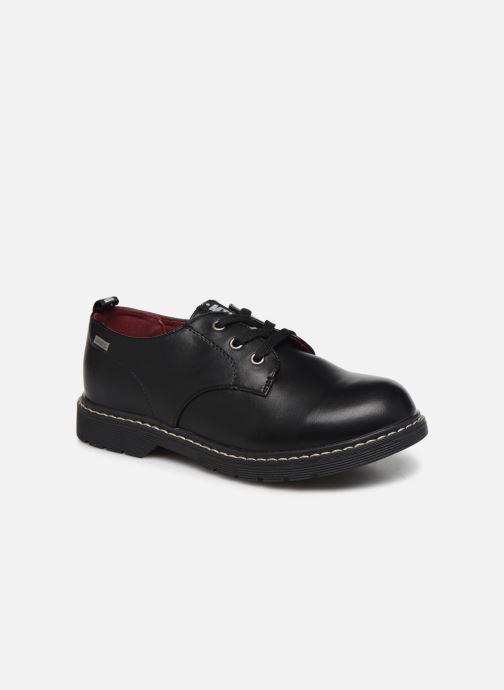 Chaussures à lacets MTNG 47854 Noir vue détail/paire