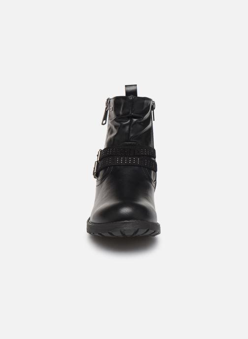 Bottes MTNG 48855 Noir vue portées chaussures