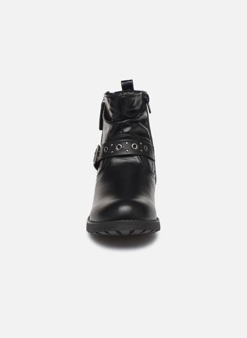Bottes MTNG 47856 Noir vue portées chaussures