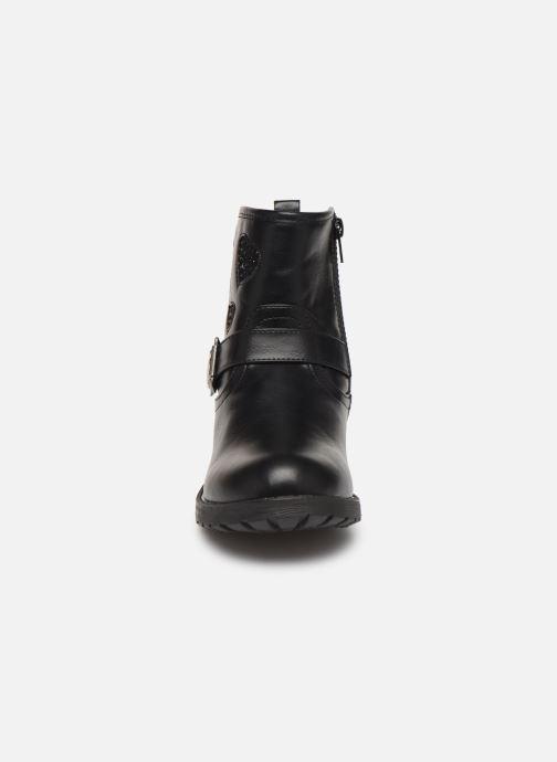 Bottes MTNG 47857 Noir vue portées chaussures