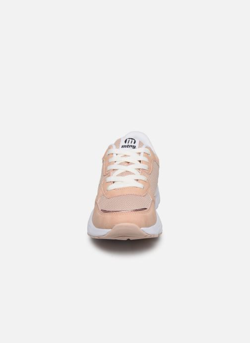 Sneaker MTNG 47899 beige schuhe getragen