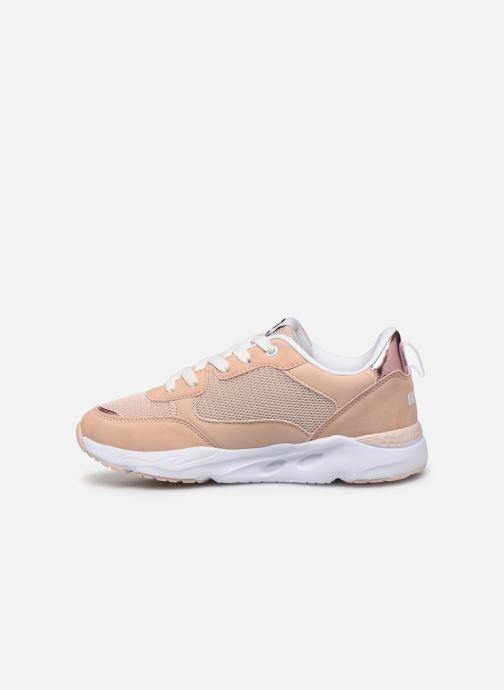 Sneaker MTNG 47899 beige ansicht von vorne