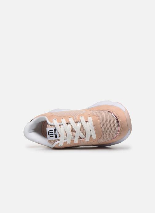 Sneaker MTNG 47899 beige ansicht von links
