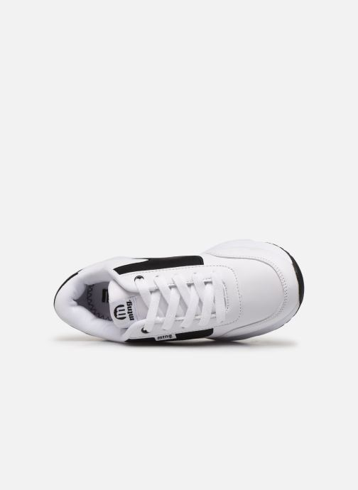 Baskets MTNG 47900 Blanc vue gauche