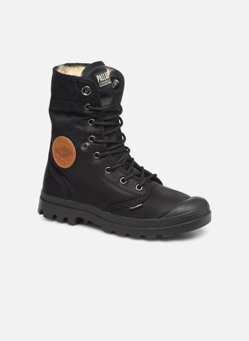 Bottines et boots Palladium Baggy Wtx W Noir vue 3/4