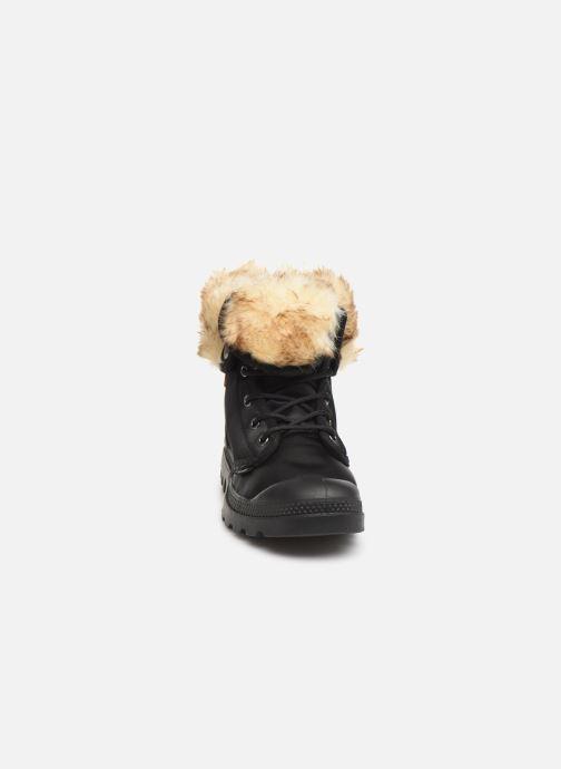 Bottines et boots Palladium Baggy Wtx W Noir vue portées chaussures