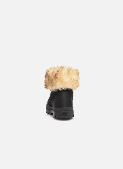 Ankle boots Palladium Baggy Wtx W Black view from the right