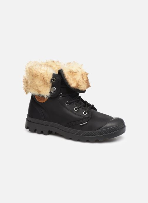 Ankle boots Palladium Baggy Wtx W Black detailed view/ Pair view
