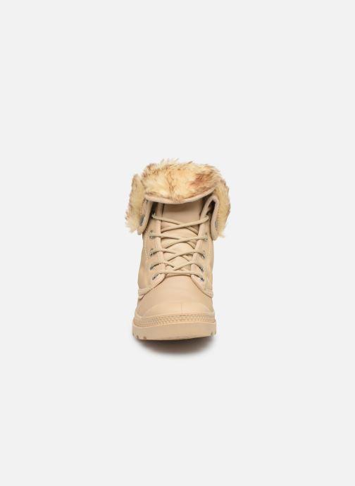 Bottines et boots Palladium Baggy Wtx W Beige vue portées chaussures
